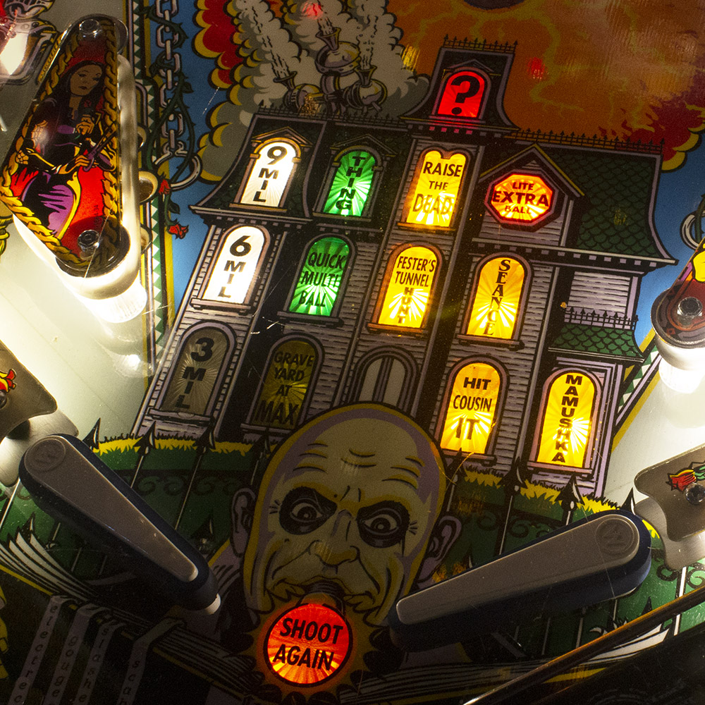 Wedgehead PDX - Addams family pinball machine