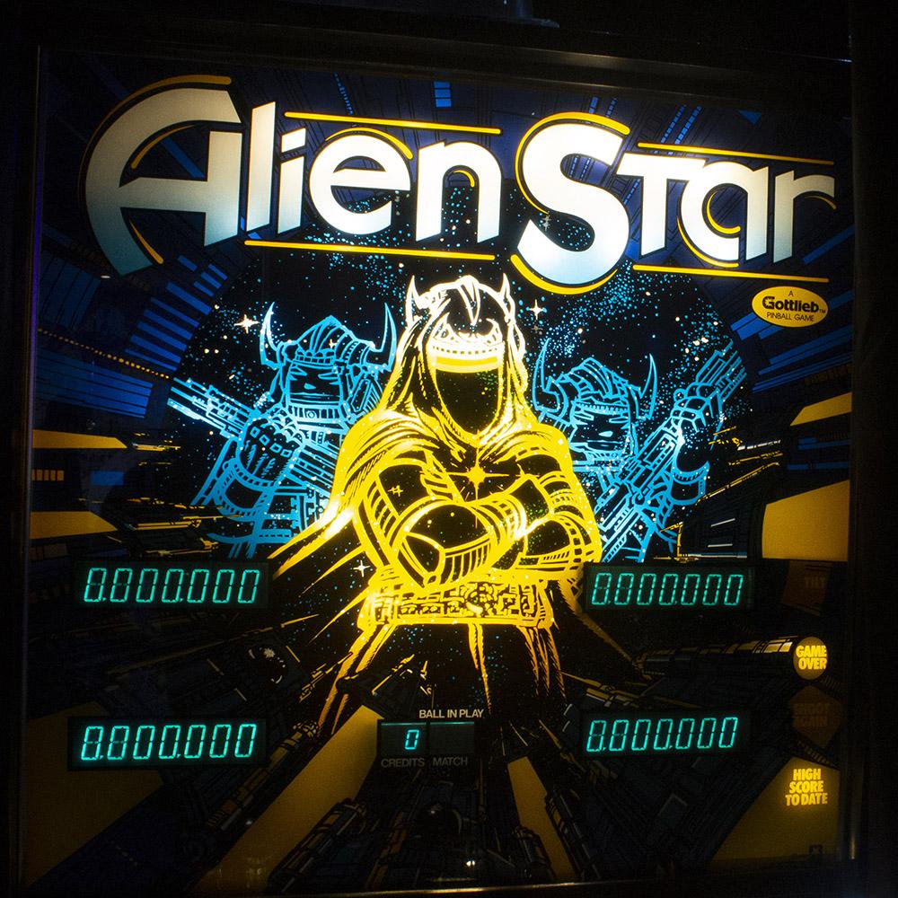 Wedgehead PDX - Alien Star pinball machine