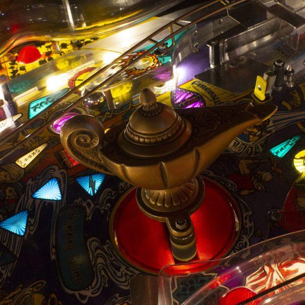 Wedgehead PDX - Arabian Night pinball game