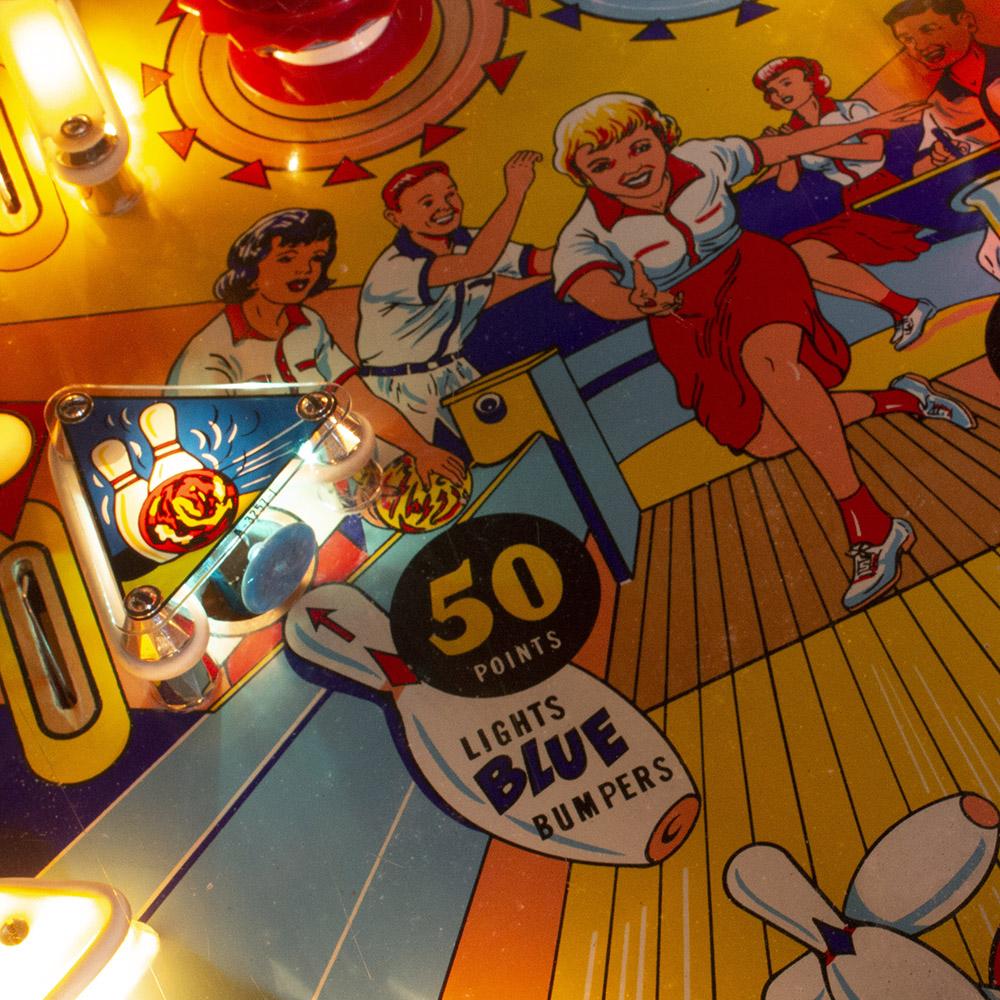 Wedgehead PDX - Bowling Queen pinball machine