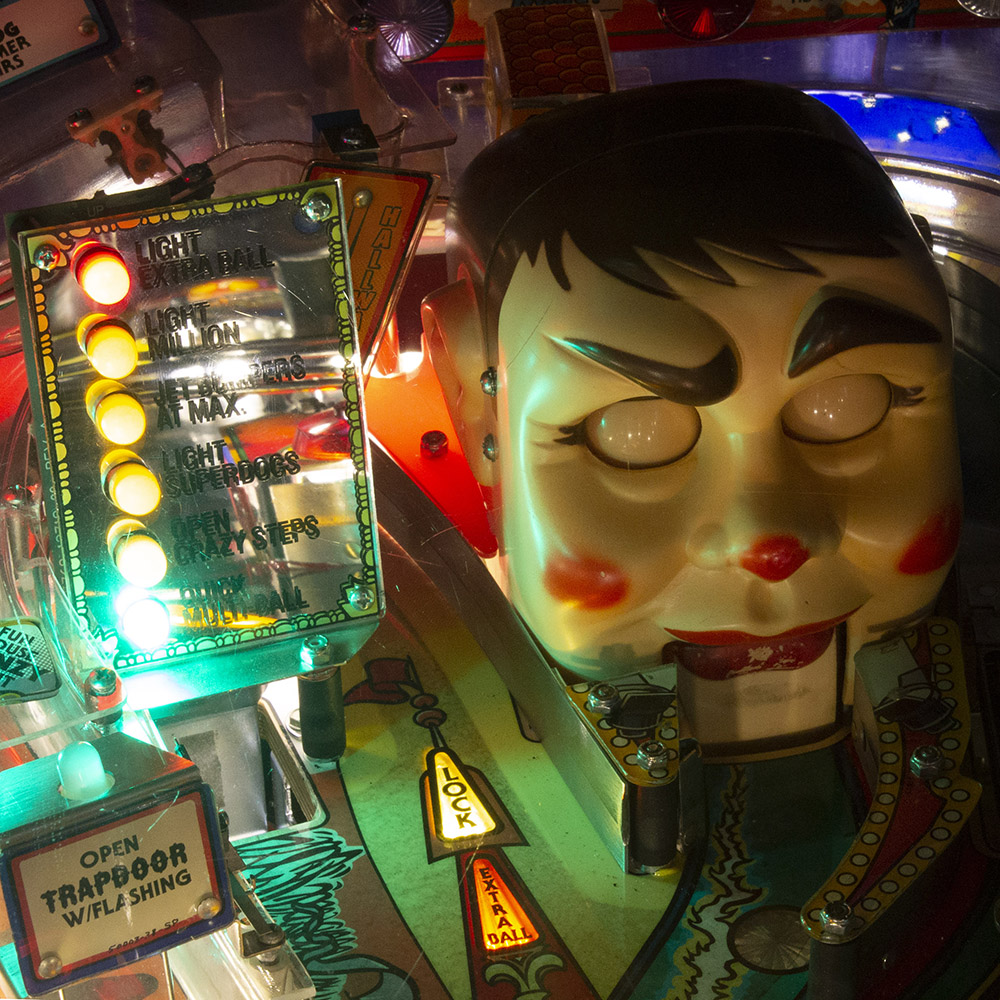 Wedgehead PDX - Funhouse pinball machine