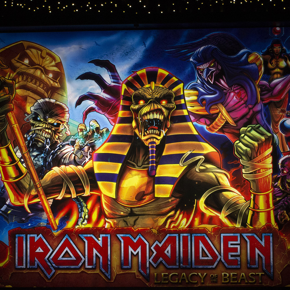 Wedgehead - Iron Maiden II pinball machine