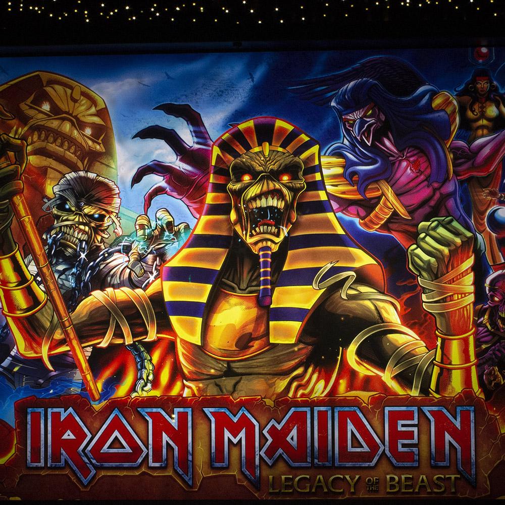 Wedgehead - Iron Maiden II pinball machine