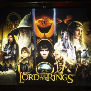 Wedgehead PDX - Lord of the Rings pinball machine