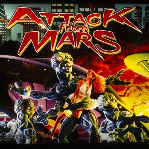 Wedgehead - Attack from Mars pinball game