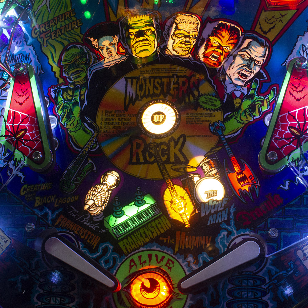 Wedgehead PDX - Monster Bash pinball game