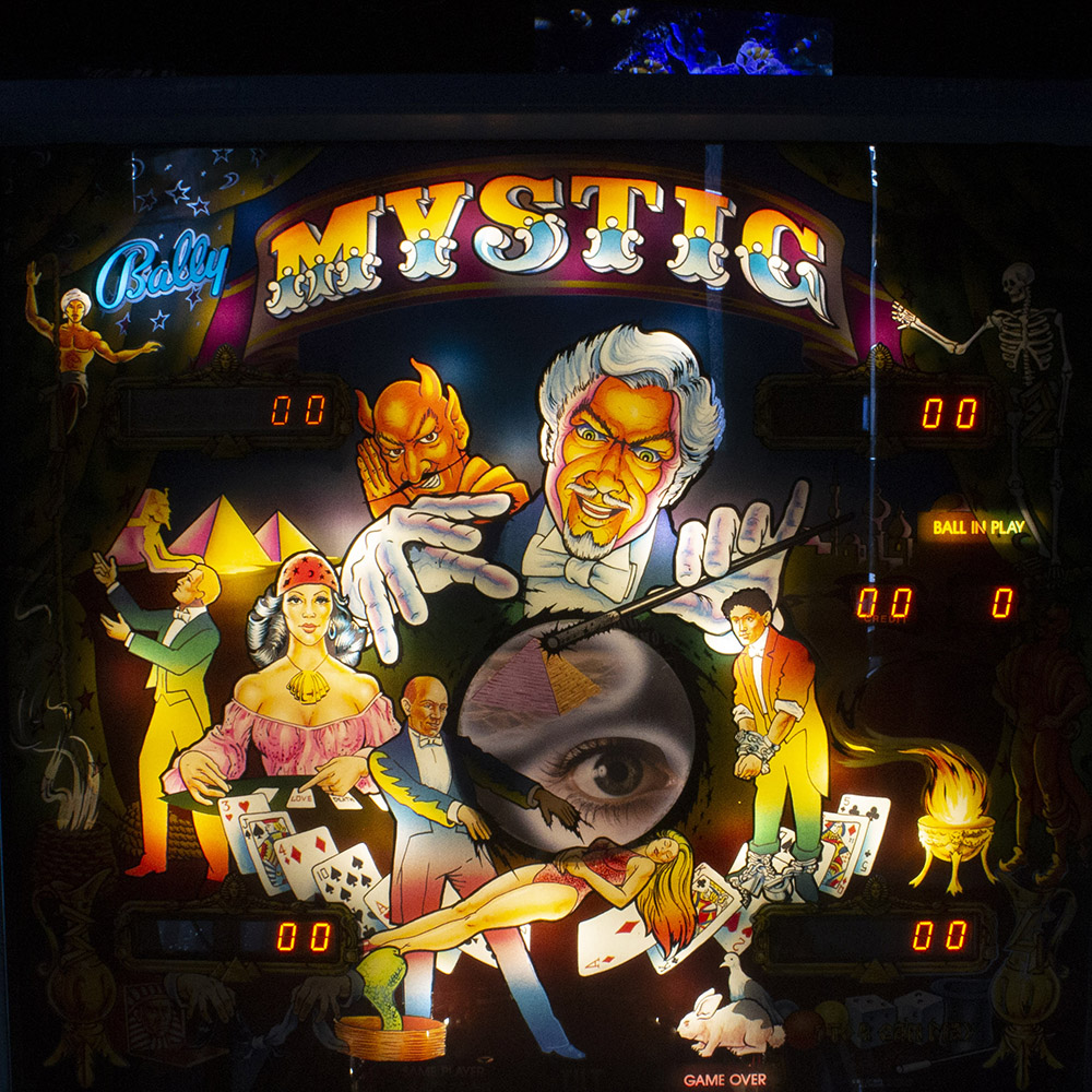 Wedgehead PDX - Mystic pinball machine