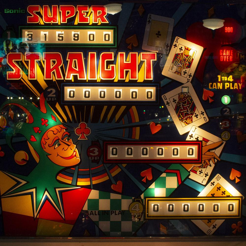 Wedgehead PDX - Super Straight pinball machine