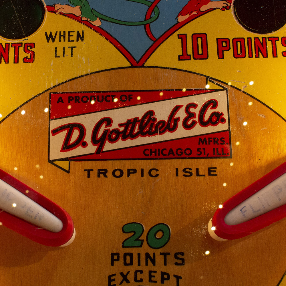 Wedgehead PDX - Tropical Isle pinball machine