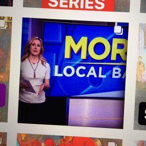 Wedgehead on KPTV news