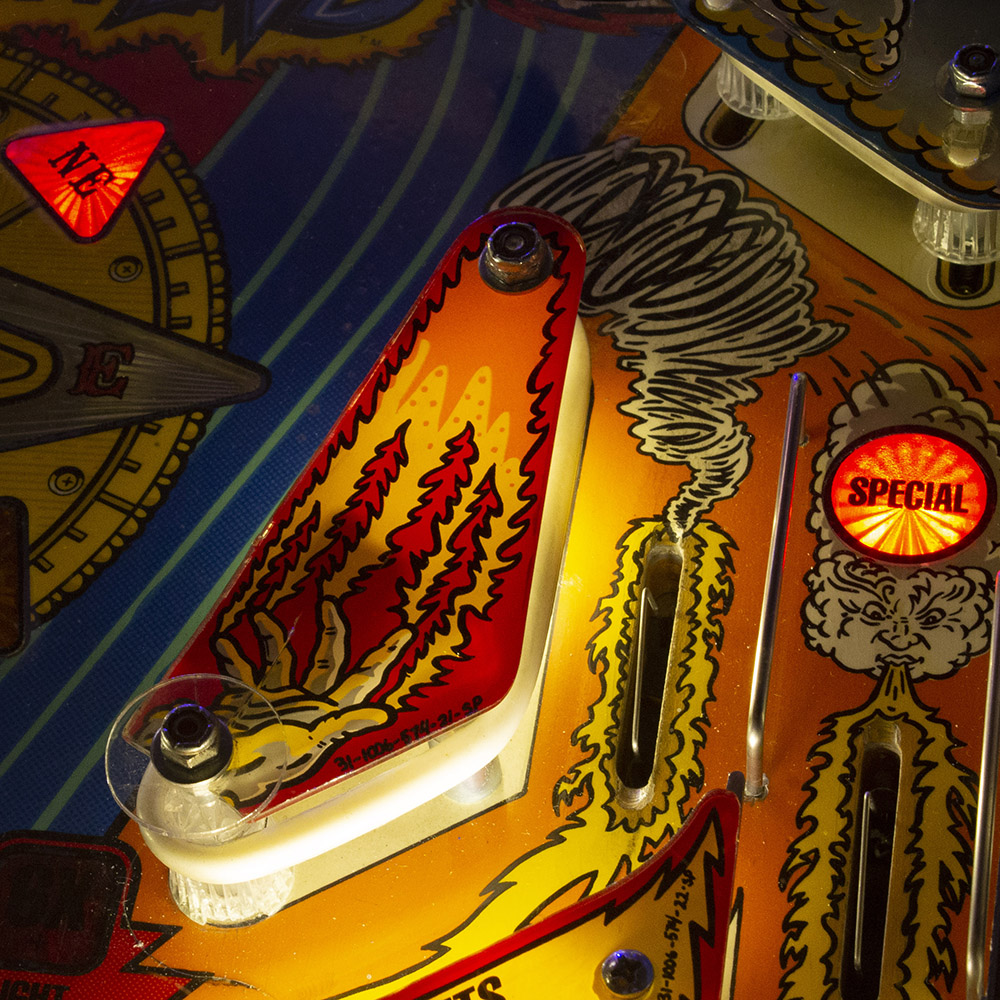 Whirlwind pinball machine - Wedgehead