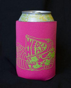 Wedgehead Pinball Arcade - beer koozie