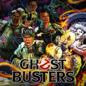 Ghostbusters pinball machine at Wedgehead PDX