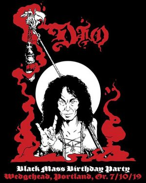 Wedgehead Ronnie James Dio tee shirts
