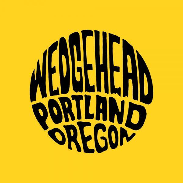 Wedgehead teeshirt V2 - yellow shirt front