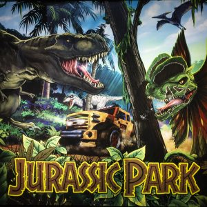 Wedgehead PDX Jurassic Park pinball machine