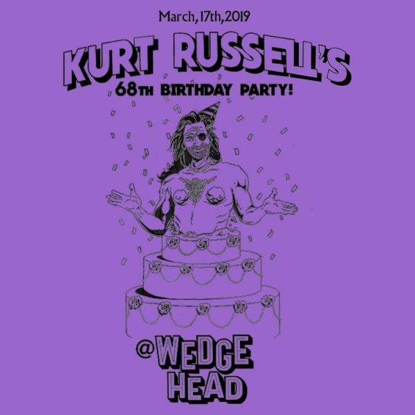 Kurt Russel's birthday shirt