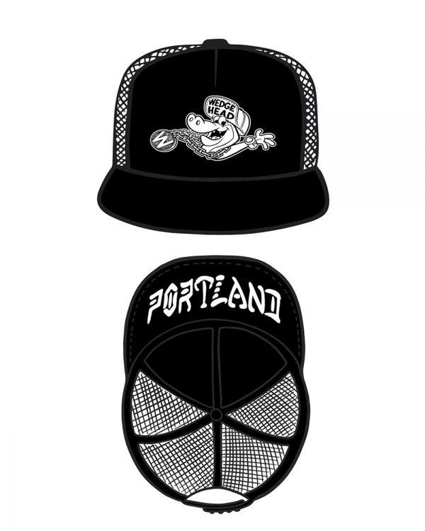 Wedgehead trucker cap