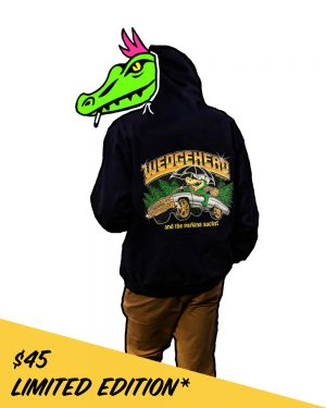 Wedgehead PDX artist series VIII hoodie