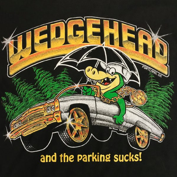 Wedgehead PDX artist series VIII design