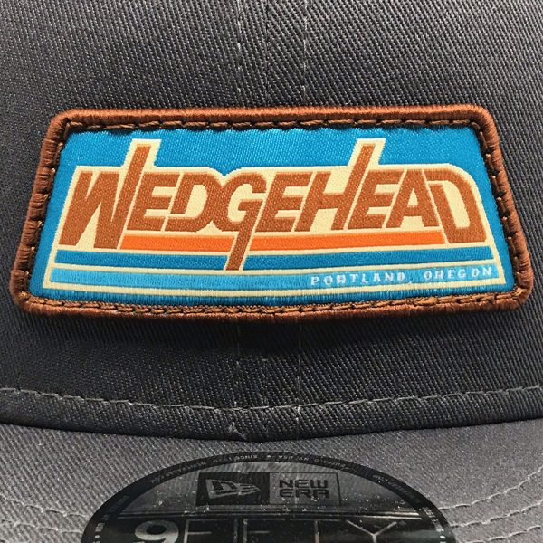New Wedgehead embroidered patch