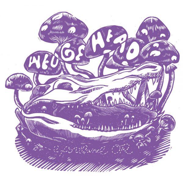Wedgehead Artist Series 9 shirt detail