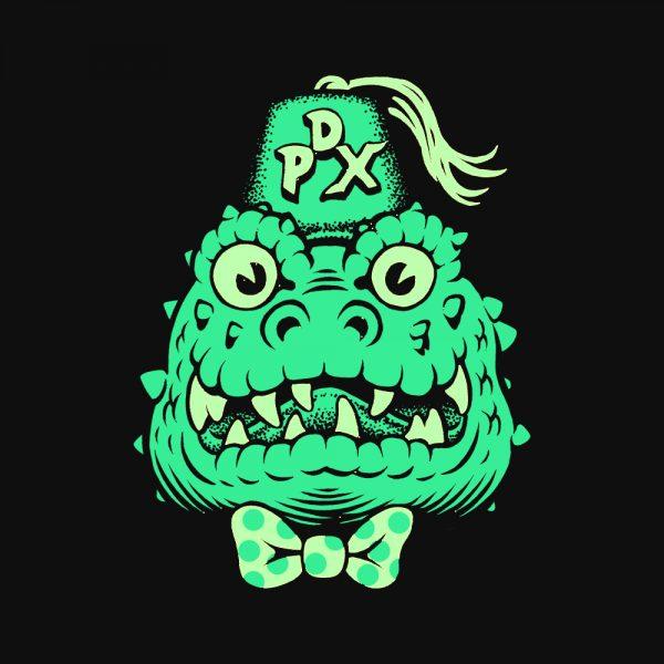Wedgehead artist series X hoodie front