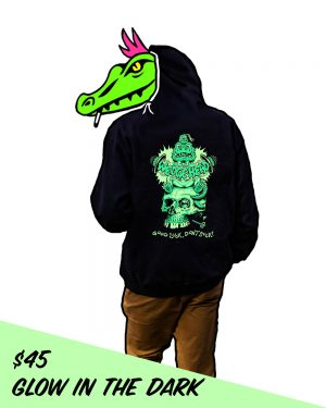 Wedgehead artist series X hoodie